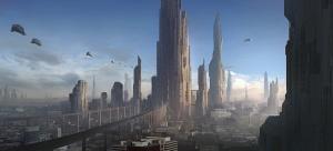 Futuristic City - City-State